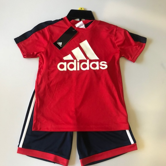 adidas Other - adidas  boy s Polo T-Shirts Athletic Shorts